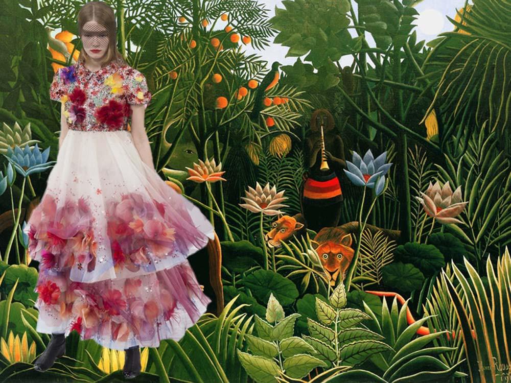 Alice in Urwald – Chanel Haute Couture F/S 2015