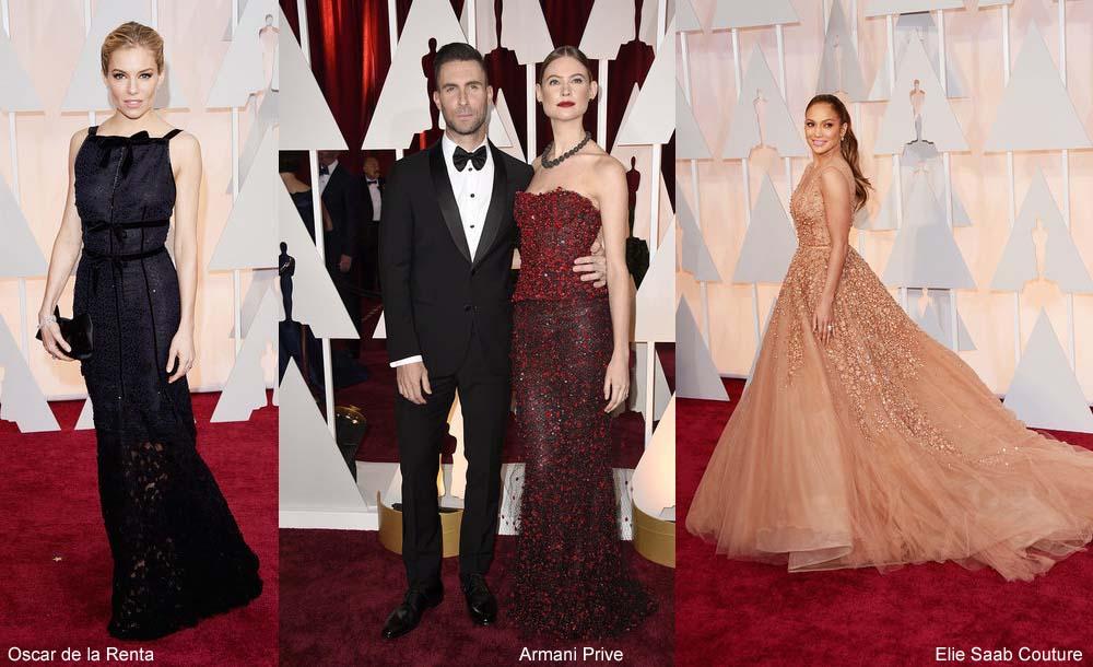 Oscars 2015 Kleider