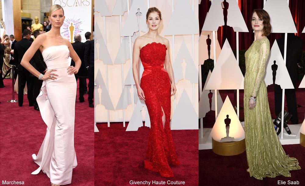 Oscars 2015 Kleid