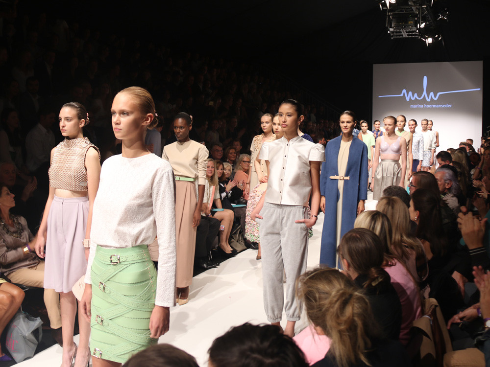 MQ Vienna Fashion Week: the amazing Opening Show from Marina Hoermanseder