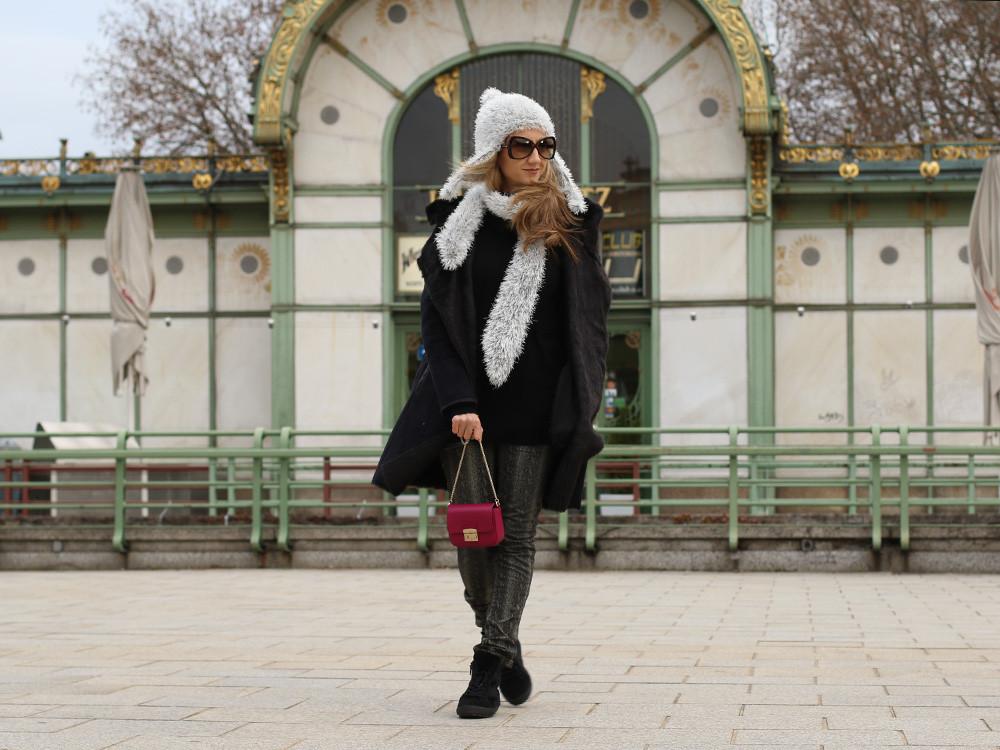 Outfit: Manchmal darf es auch Schwarz sein