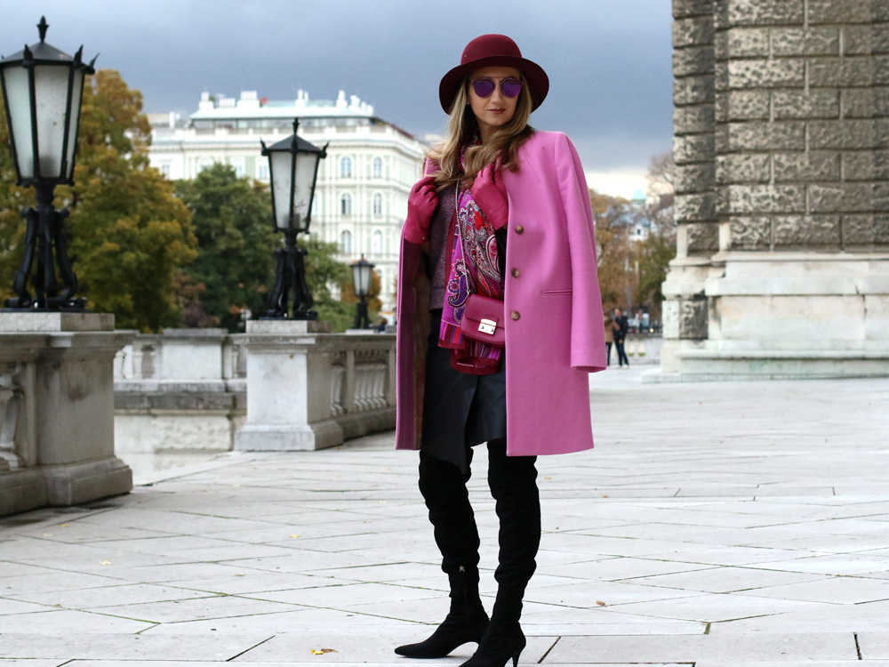 colourclub-outfit-pink-coat-over-the-knee-boots-furla-bag-dior-soreal-sunnglasses1