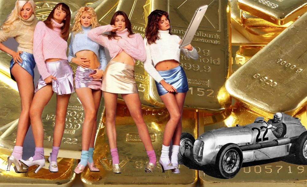 Bronze, Silber und Gold – der Metallic Trend
