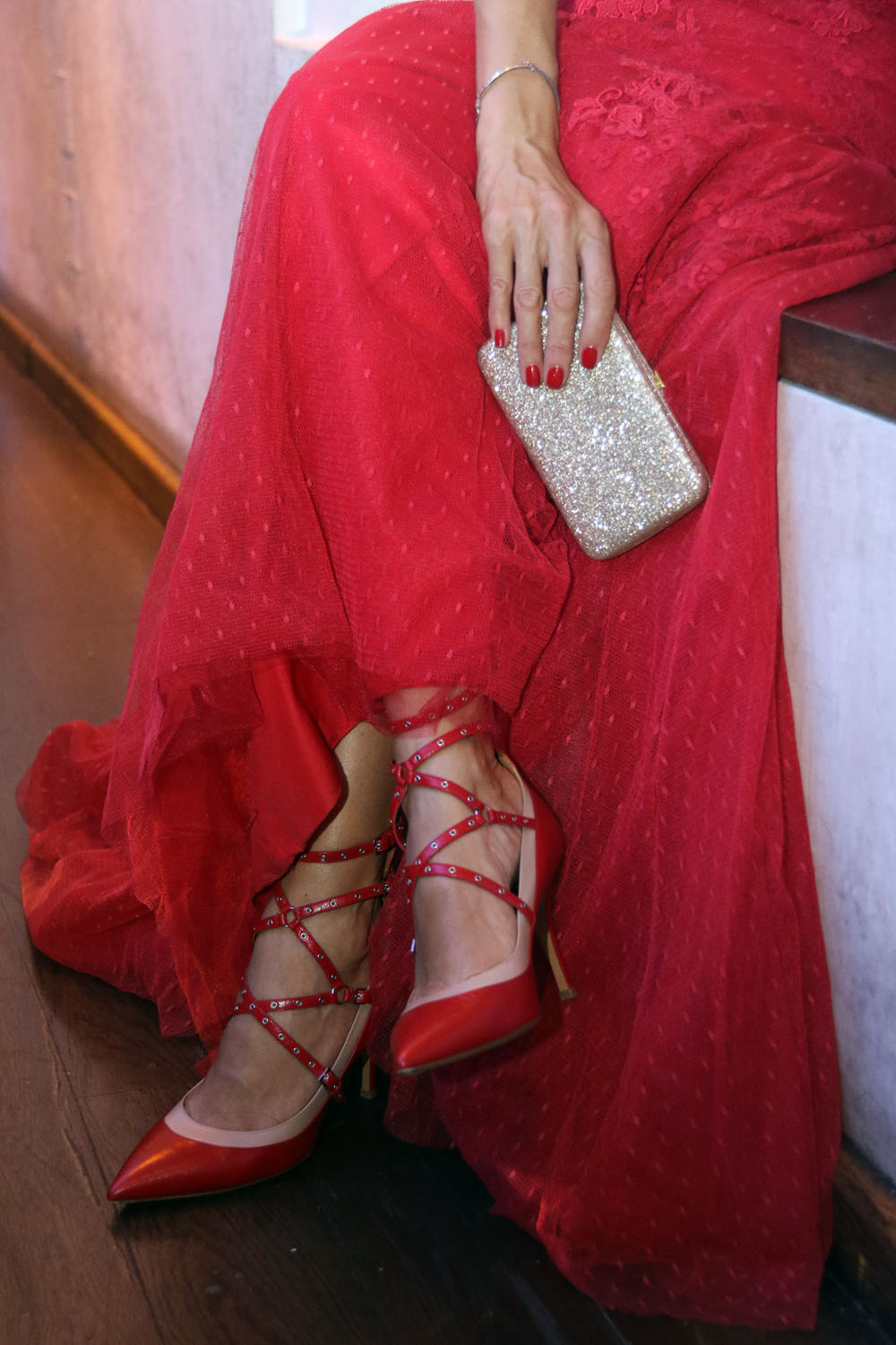 colourclub-fashion-blog-red-valentino-rockstud-shoes-evening-gown-flossmann