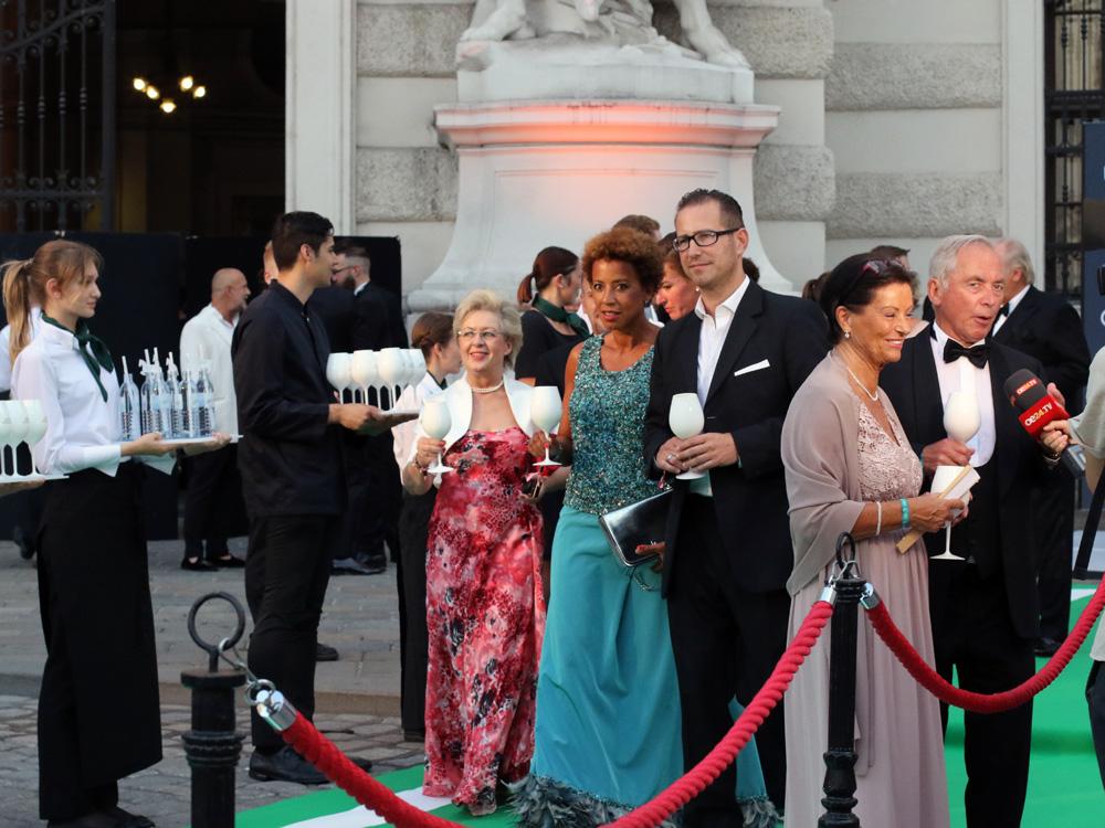 Arabella Kiesbauer, Fete Imperiale Vienna 2017