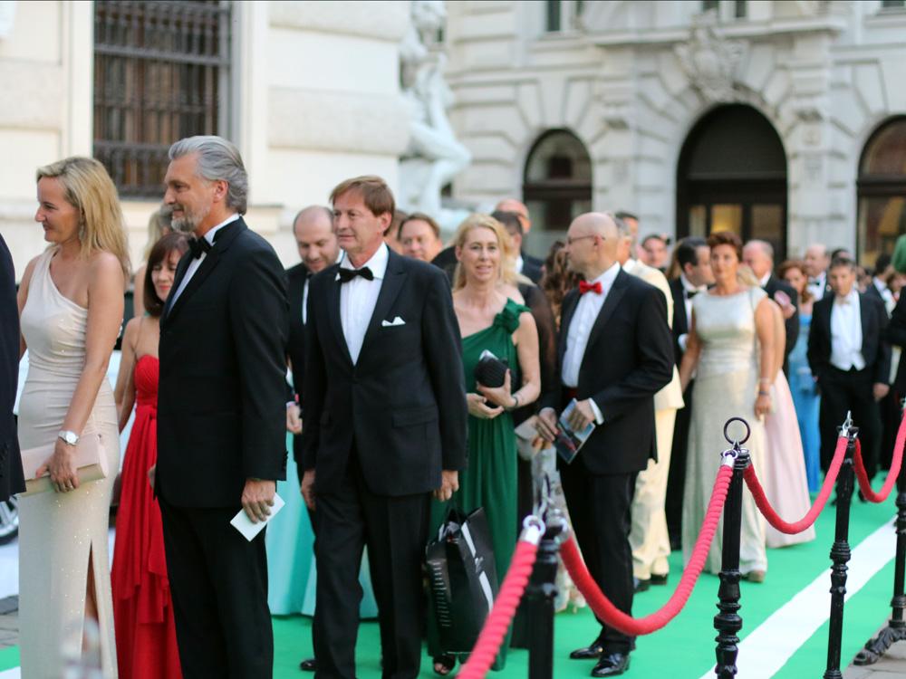 Fete Imperiale Vienna 2017,  Gäste,  Prominente