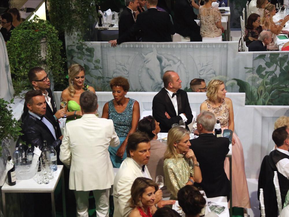 Arabella Kiesbauer, Alfons Heider, Herbert Prohaska, Fete Imperiale 2017, Spanische Hofreitschule