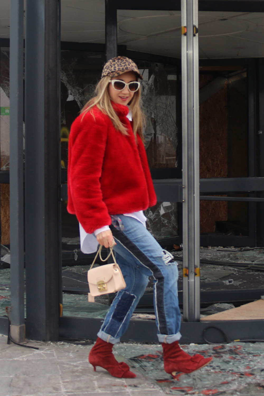 colourclub-fashionblog-fake-fur-mantel-zara-moskot-sunglasses-furla-bag-hm-hat