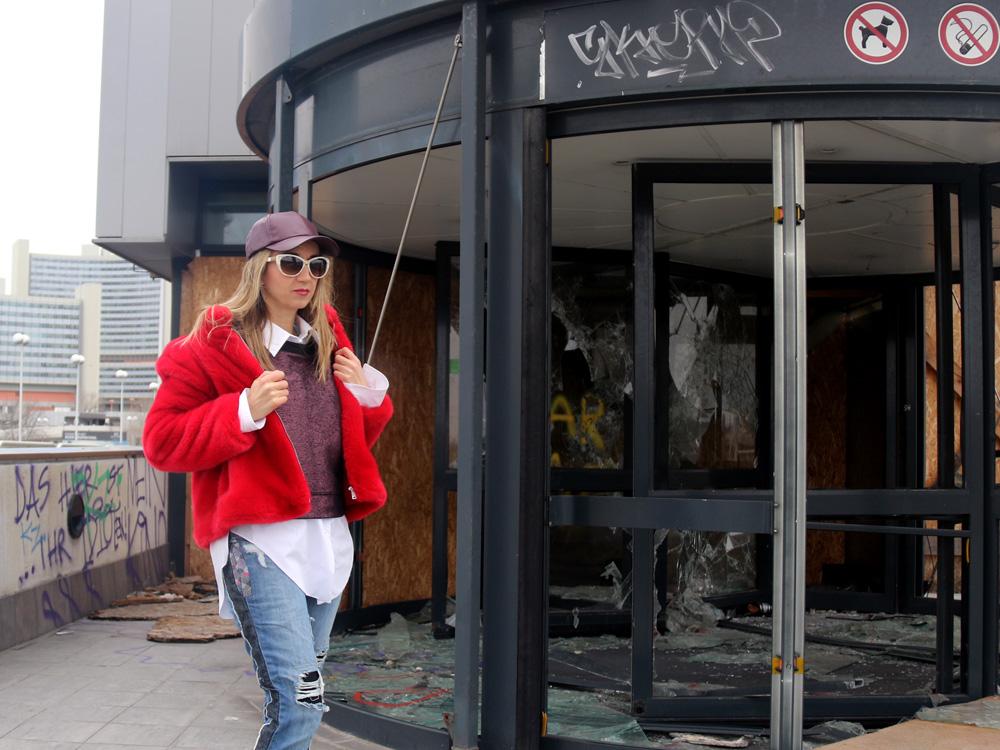 colourclub-fashionblog-fake-fur-zara-moskot-sunglasses-furla-bag
