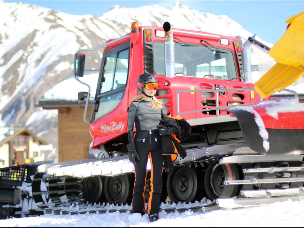 Skifahren ist eine Leidenschaft