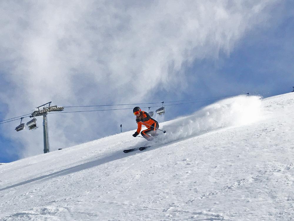 Skifahren, Skijacke Toni Seiler